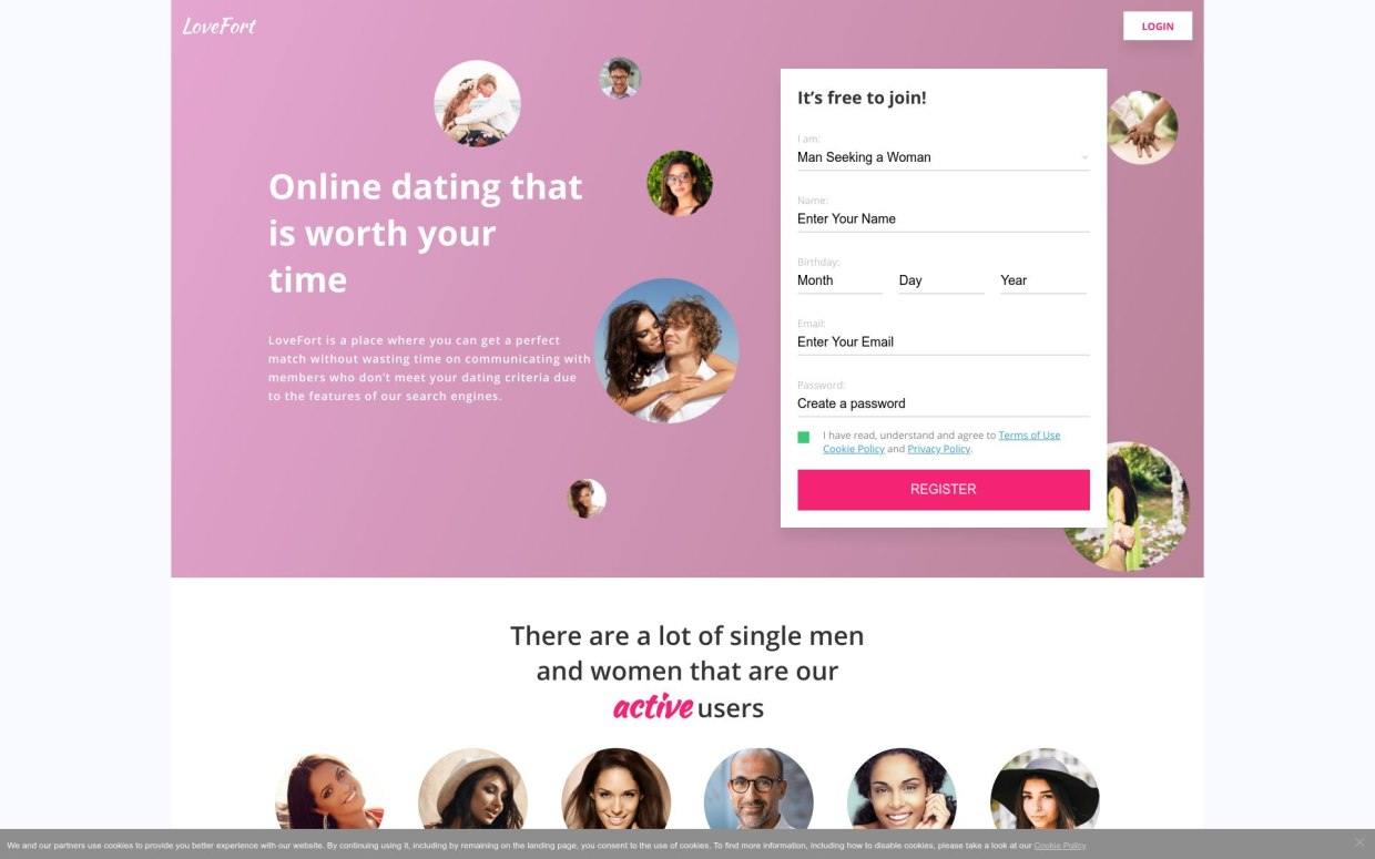 LoveFort Dating Review Post Thumbnail